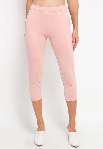 Tolliver pink Basic Sweatpants 3E685AA2FA2EC8GS_1
