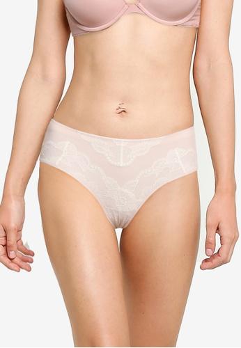 CALVIN KLEIN pink Hipster Briefs - Calvin Klein Underwear A68D0USC61C15AGS_1