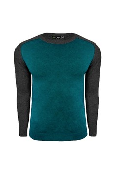 Jacob Knitted Raglan Long Sleeve Shirt