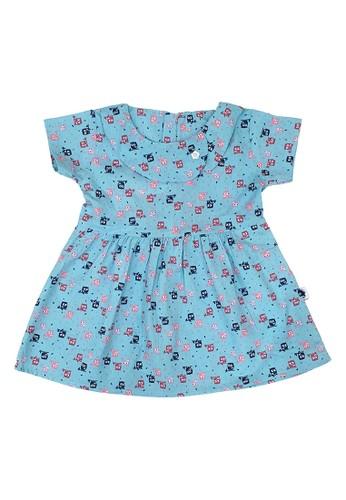 Pingu blue Pingu 90401010 - Dress Baby Perempuan 969F2KA10D6416GS_1