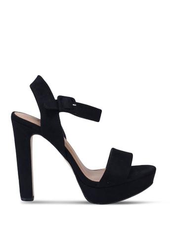 Call It Spring black Wanna Open Toe Ankle Strap Block Heels 114B7SH45FD0F8GS_1
