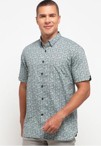 Salt n Pepper brown S/S-Men Shirt 34C9CAAA5CC413GS_1