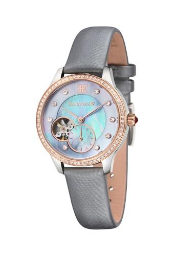 Thomas Earnshaw grey Thomas Earnshaw LADY AUSTRALIS ES-8029-05 Women's Grey Satin Strap Watch B8755AC72D2DDAGS_1