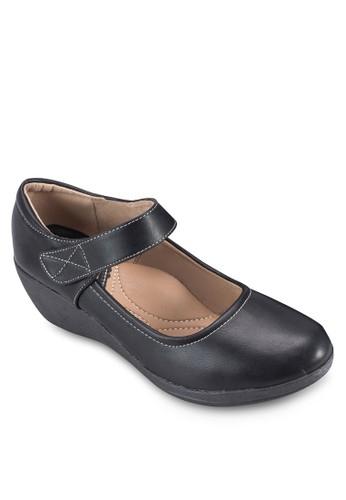 魔術氈帶楔型跟女鞋, 女鞋esprit門市地址, 鞋