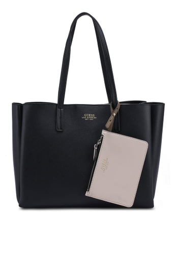 7ca1e9fdac92 Buy Guess Ella Girlfriend Carryall Bag Online on ZALORA Singapore