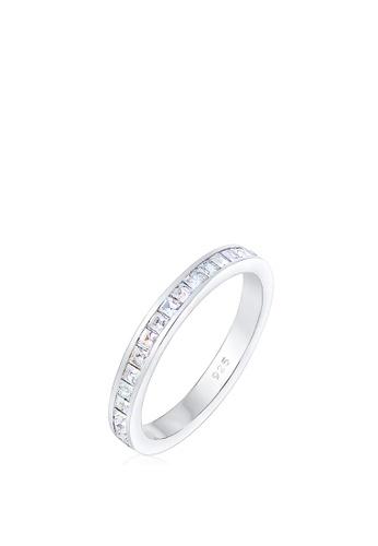 ELLI GERMANY silver Ring Geo Crystals 16436ACFA79EA6GS_1