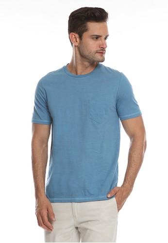Men's Top blue Brigg - Blue 82772AA41CD3DEGS_1