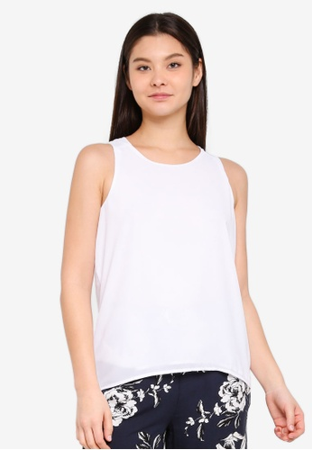 Cotton On white Olivia Tank Top 82D50AA115A8A3GS_1