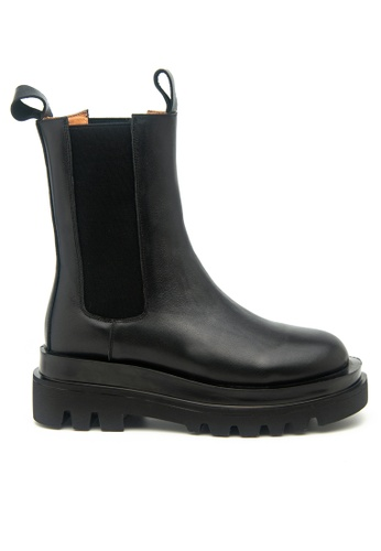 Twenty Eight Shoes Platform Cow Leather Boots 2092-1 40229SHF707F01GS_1