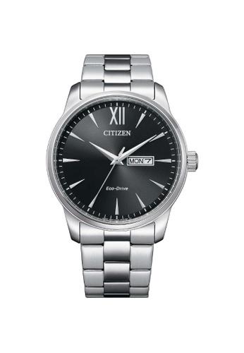 Citizen silver CITIZEN BM8550-81E ECO-DRIVE CLASSIC BLACK DIAL MEN'S WATCH F269EAC91AE418GS_1