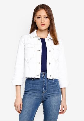 758be220ff6 Crop Denim Jacket