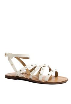 Anacapri Enya T strap Strappy Flat Sandals