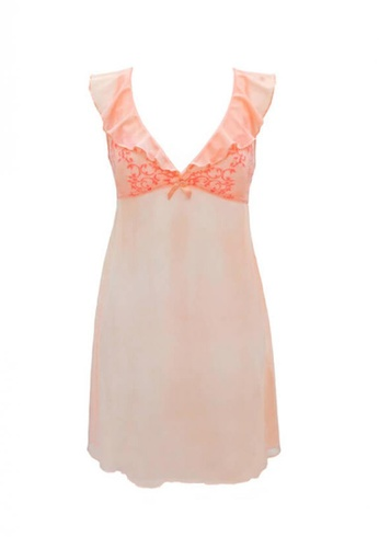 Neubodi pink Maya Charming Slip NE503US30DAVMY_1