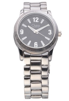 Silver Tone Steel Watch