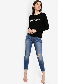 5466668528d75 25% OFF Guess Guess Eternal Crew Neck Sweater RM 499.00 NOW RM 373.90 Sizes  XS S M