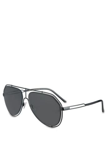 Dolce & Gabbana black Dolce & Gabbana DG2176 Sunglasses DO384GL0S9PAMY_1