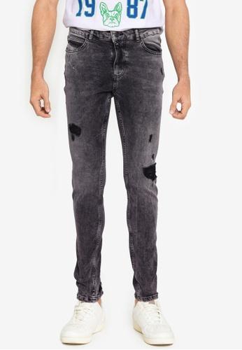 Aeropostale grey Skinny Fit Jeans D53B9AA1390738GS_1