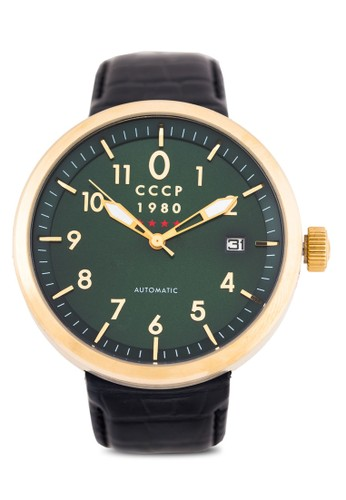 St. Petersburg 皮革手錶zalora 順豐, 錶類, 男裝配件