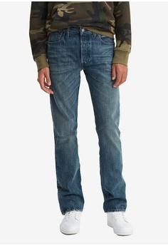 7faf1ef54d64 Levi s blue 501® Men s Original Fit Jeans 96E70AAE6A1A2CGS 1