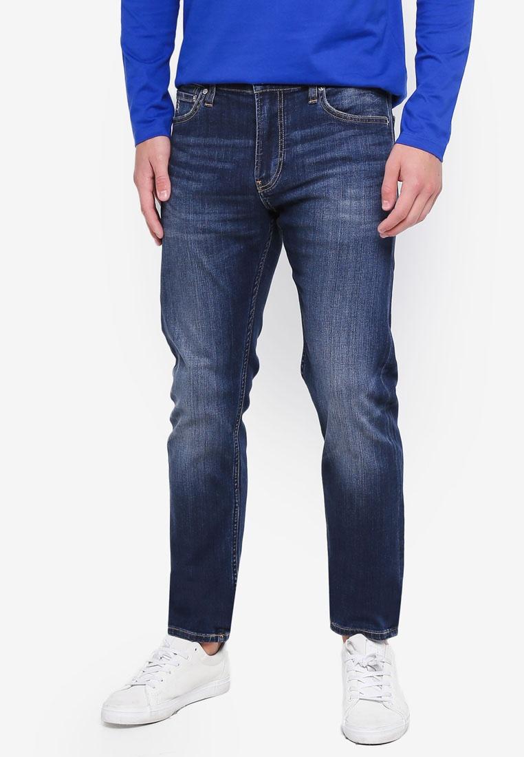 Jeans Calvin Blue Jeans Klein Klein Calvin Slim 026 Vegemite wF1qzz