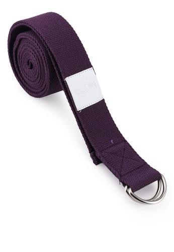 MOSSGOODS purple Stretching Strap (Purple) DD1C2AC9B1A70EGS_1