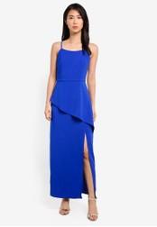 Preen & Proper blue Spaghetti Strap Maxi Dress PR614AA0S9V6MY_1