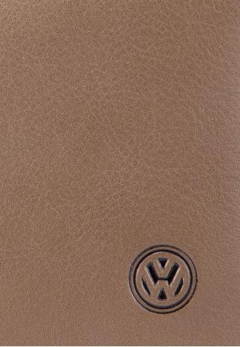 Volkswagen brown Volkswagen Bi-Fold Full Leather Wallet VO089AC19MWAMY_1