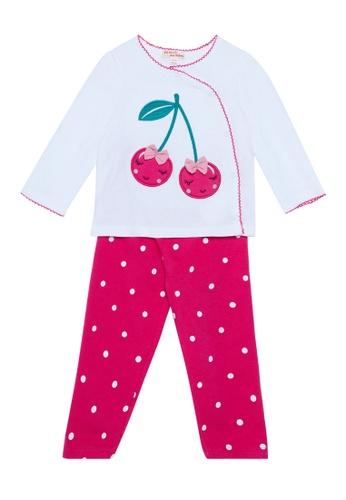 Du Pareil Au Même (DPAM) white Long Sleeve Pyjamas 2ECB5KA07FAF5AGS_1
