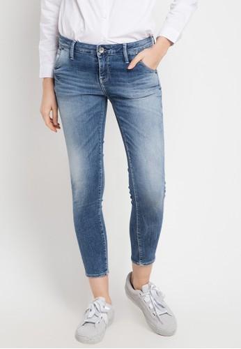 Logo Jeans blue Skinny C3 Series Mid Waist 886DBAA417F0C8GS_1