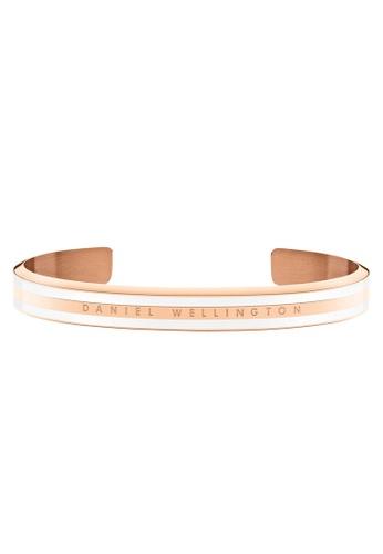 Daniel Wellington gold Classic Slim Bracelet Satin White Medium 8C795AC440EB07GS_1