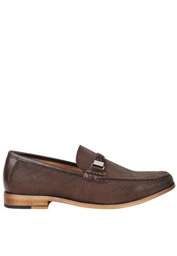 Tomaz brown Tomaz F118 Braided Loafers (Coffee) TO717SH03HJKMY_1