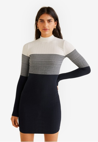 d76ae90a5f Shop MANGO Ribbed Jersey Dress Online on ZALORA Philippines