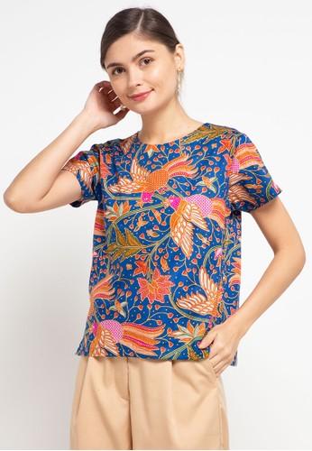Batik First multi Blouse Kupnat Cap B4017AA3B67200GS_1
