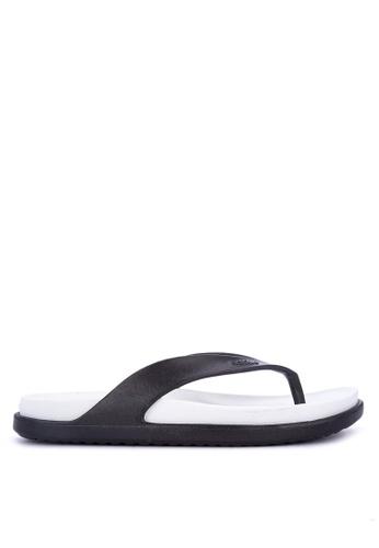 Native black Yates  Sandals 15B47SHAD21E58GS_1