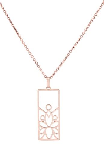 Pastiche gold White Orchid Necklace 815ADAC24D3D2FGS_1