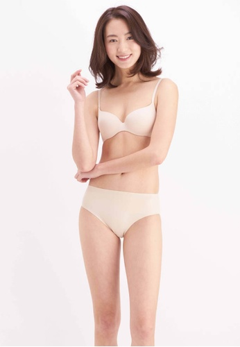 Her Own Words beige Signature Lightly Lined Demi Bra F39BEUS2EED829GS_1