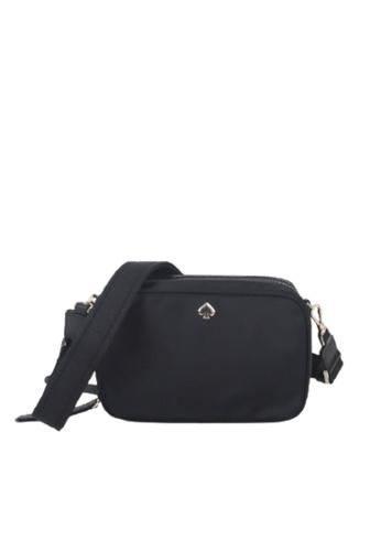 Kate Spade black Kate Spade Small Jae Camera WKRU7038 Crossbody Bag In Black 9D57AAC45D47A3GS_1