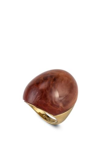 kate spade new york brown Resin Mood Ring (cv) 3526FAC864135DGS_1
