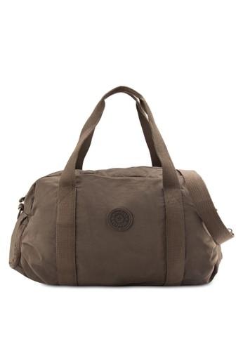 BAGSTATIONZ MDS Crinkled Nylon Fabric Large Travel Duffeesprit 品牌l Bag, 包, 旅行袋