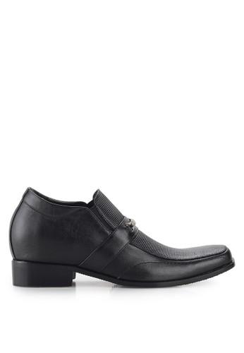 Keeve black Keeve Shoes Peninggi Badan Formal 102- Hitam E091ASH25B8147GS_1