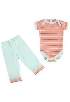 Stripes Onesie Set