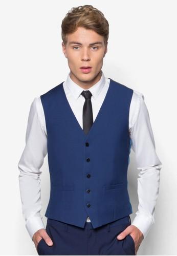 雙色西裝背心, esprit台灣服飾, 服飾
