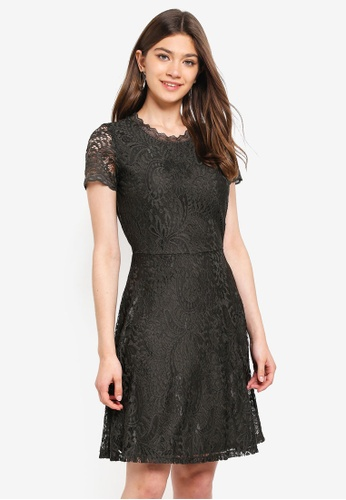ONLY black Mystery Lace S/S Dress AF8A9AA5820C2CGS_1