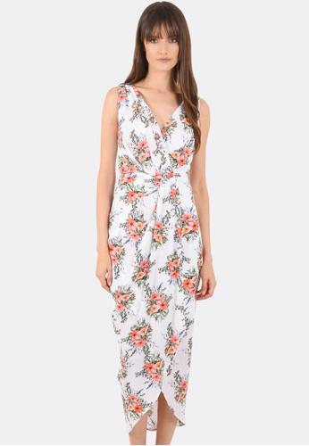 FORCAST white Milania Dress FO347AA0GLNGSG_1