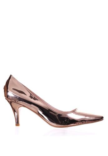 PRODUIT PARFAIT gold Patent Stiletto Heel Pumps ADAA3SH510E00FGS_1