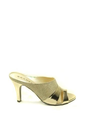 Beauty Shoes gold Beauty Shoes 1183 Heels Gold C56B1SH50FED88GS_1