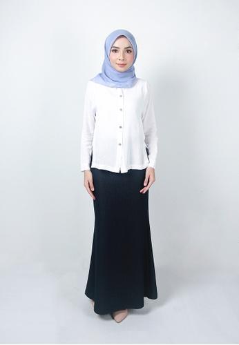 Ladies Jeans blue Muslimah Elegant Long Skirt 685BFAAB2169BAGS_1