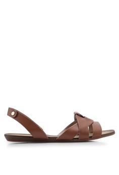 7b16610bad58 ALDO brown Deladriewiel Slingback Sandals FE851SH547BC90GS 1