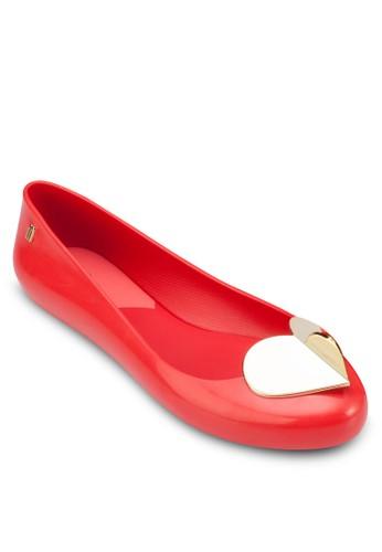 Space 心形平底鞋,esprit鞋子 女鞋, 芭蕾平底鞋