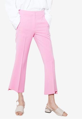NAIN pink Flare Pants C6F39AA67EAD55GS_1